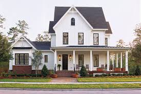 image of pretty house plans with porches
