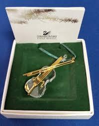 swarovski crystal memories violin very good palace jewelry loan reno nv