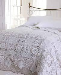 victoria crochet lace white bedspread