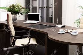 stock photo laptop and flowers on the table in a modern office awesome office table top view shutterstock id