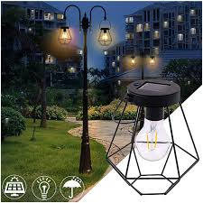 Shepard Lighting Amazon Com Naiflowers Path Hanging Solar Lights Lantern