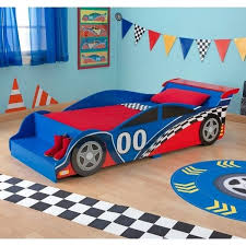 race car toddler bed bedroom set