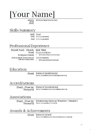 how to write a simple resume how to write a simple resume how write simple resume template word