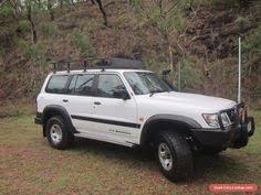 Nissan Gu Patrol Race Car Project Suit Finke Safari Or Comp
