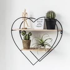 metal wood heart shaped design grid