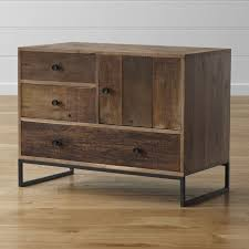 unique entryway furniture. brown rectangle unique wood and metal entryway cabinet design wonderful furniture