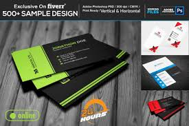 Unique Business Card Design Within 2 Hours