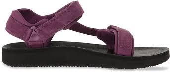 teva original universal premier leather wmn s sandal dark purple