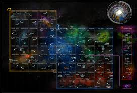 Star Trek Galaxy Chart 46 Accurate Map Of The Federation Of Planets