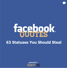 Facebook Quotes About Life Magnificent Facebook Quotes 48 Statuses You Should Steal