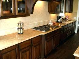 light brown cabinets dark with granite countertops popular