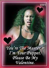 Image result for heavy metal valentine cards