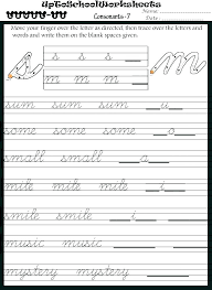 Penmanship Worksheets For Adults Beautilife Info