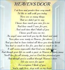 Heaven Quotes For Loved Ones Magnificent Birthday Of Deceased Loved One Quotes Clickadoonet