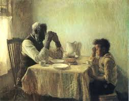 praying with grandpa by henry ossawa tanner american painter 1859 1937
