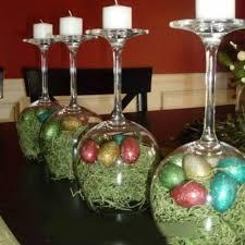 Wine Glass Candle Holder DIY