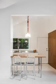 Office Kitchen Design Small Contemporary Kitchen Makes Room For Home Office And Laundry