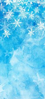 Snowflakes, blue background, Christmas ...