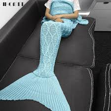 Mermaid Blanket Pattern Interesting Big Mermaid Blanket Pattern Crochet Knitted Mermaid Tail Blanket
