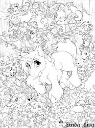 Small Picture LinzArcher Google Search Coloring Pinterest Baby unicorn