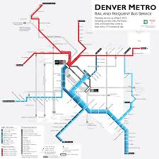 learn to love the bus with a map of rtd's best routes
