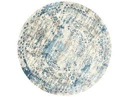 idea ivory and blue area rugs or rugs kt round ivory blue area rug 63 ikat