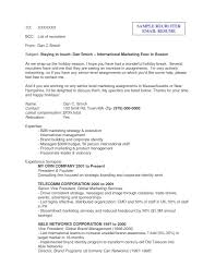 Perfect Sending Resume To Recruiter Email Sample Image Collection