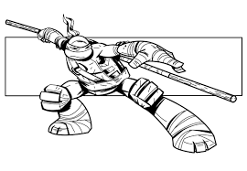 39 Dessins De Coloriage Tortues Ninja Imprimer