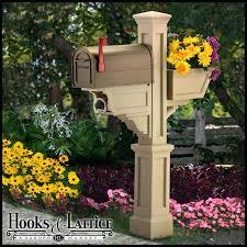 landscaping around mailbox post. Mailbox Flower Pot Make A Garden Landscaping Around Post