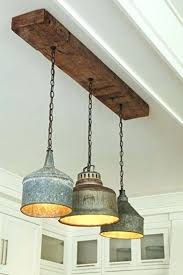 this great rustic light fixture is made from old tin funnels ceiling fixtures canada