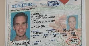 Option Licenses Maine Offer Gender To Ids Non-binary On