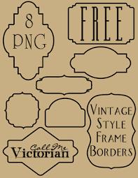 Vintage frame border Grey Free Frame Border Clipart Call Me Victorian Vintage Frame Border Clipart Call Me Victorian