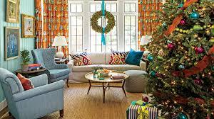 christmas living room decorating ideas. Keenan Living Room With Christmas Tree Decorating Ideas
