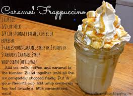 starbucks caramel frappuccino recipe. Delighful Caramel For Starbucks Caramel Frappuccino Recipe R