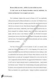 r ov dynasty essay year hsc modern history thinkswap causes of russian revolution essay