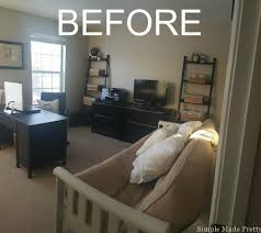 guest room home office. makeover my office before picture guest room home b