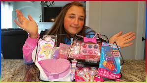 Teen girl cosmetics makeup