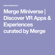 Augmented Reality Vs Virtual Reality Venn Diagram Merge Miniverse Discover Vr Apps Experiences Curated By Merge