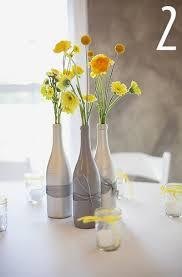 Simple & elegant wine bottle vases.