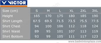 Victor Badminton Shoes Size Chart Apparels Victor Tops Tournament Victor 2015 Sudirmap