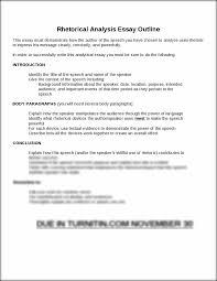 rhetorical essay example comparative rhetorical analysis essay rhetorical analysis essay outline rhetorical analysis