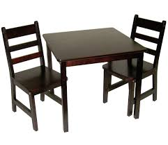 lipper international child s square table chairs