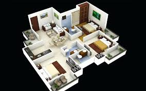 3d design house plans bungalow floor plan house plan 3d house