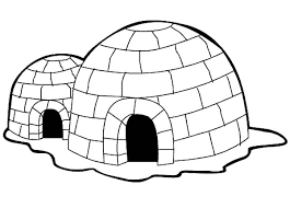 Small Picture Eskimo House Igloo Coloring Pages Bulk Color
