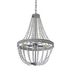 harlow orb 4 light silver chandelier