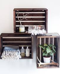 Storage & Organization: Rustic Wood Crate Bookshelf - Wood Crate