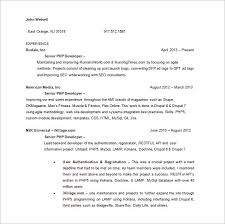 Sample Web Developer Resume. 10 Sample Web Developer Resumes Sample ...