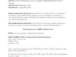 Warehouse Manager Job Description Sample Template Supervisor