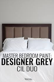 The Perfect Master Bedroom Paint CIL Designer Grey Fascinating Grey Paint Bedroom