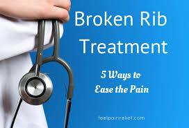 broken rib pain treatment